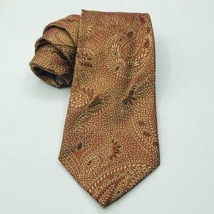 Banana Republic Mens Silk Paisley Tie 3.5 x 60″